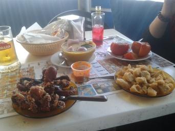 Comida en El Pajar