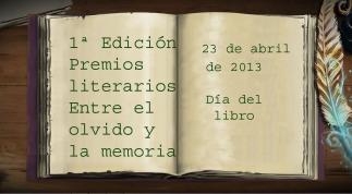 """Premio """"Entre el olvido y la memoria"""""""