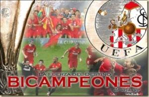 Bicampeón de Uefa